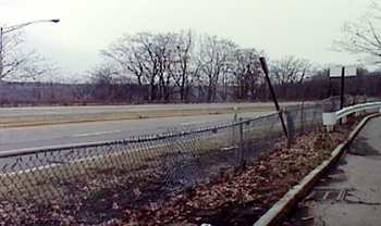 The hideous Robert Moses Parkway, photo by L. Ricciuti
